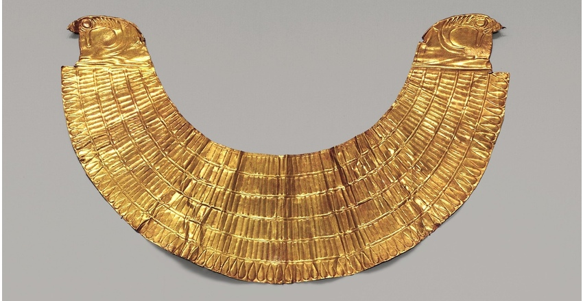 Погребальное ожерелье времен Тутмоса III