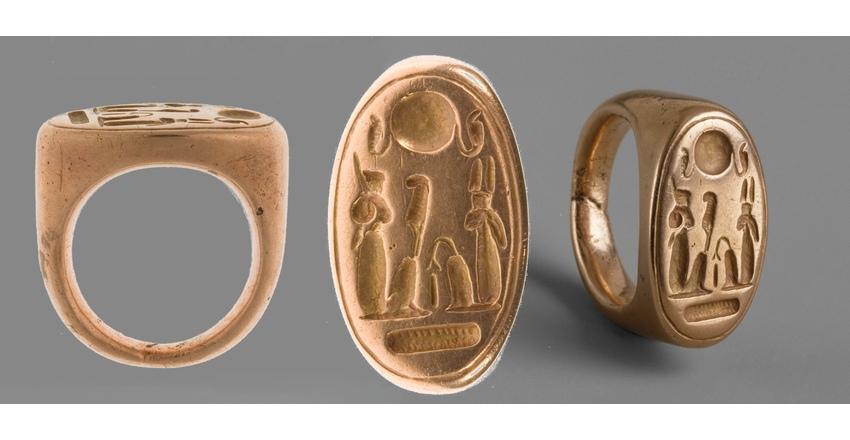 Золотое кольцо времен Эхнатона
